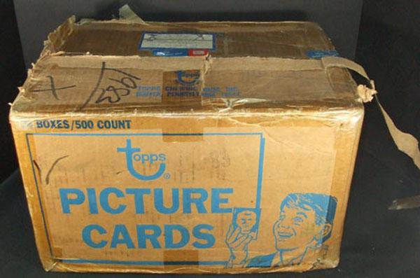 1983 Topps Baseball Vending Case 24 500 ct boxes