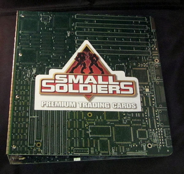 Inkworks Small Soldiers Trading Cards Binder