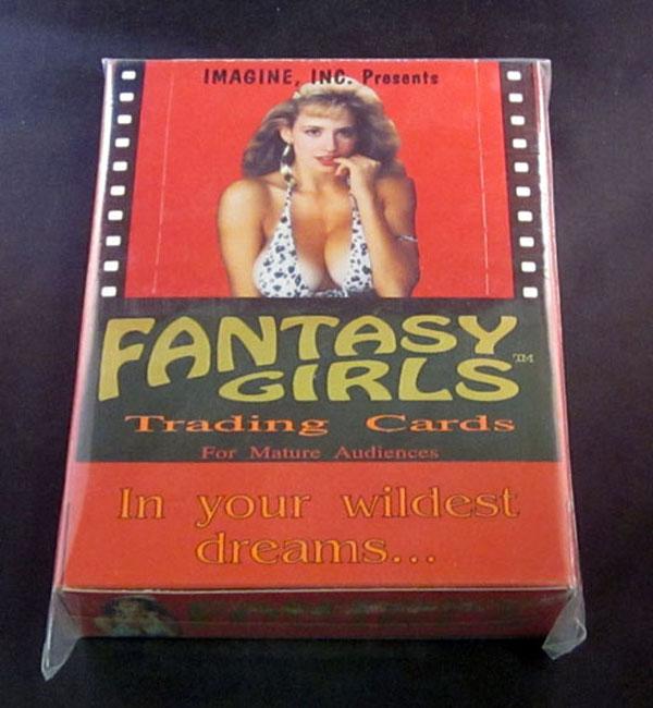 1993 Imagine Fantasy Girls Trading Card Box