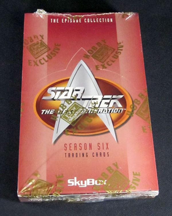 1997 Skybox Star Trek TNG Season 6 Hobby Trading Card Box 24 Packs