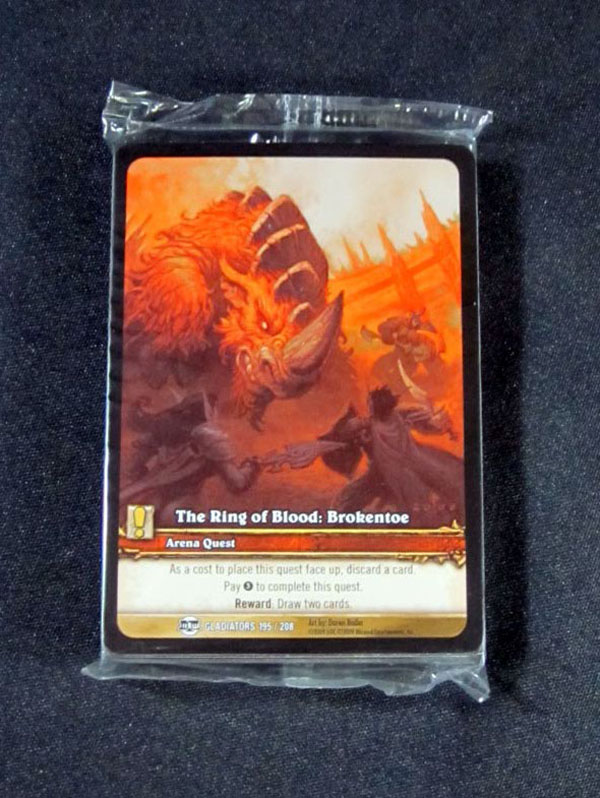 25) World of Warcraft WoW TCG The Ring of Blood: Brokentoe Extended